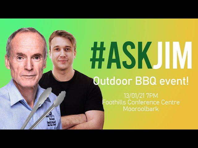 #ASKJIM BBQ Special! Live from Training with Jim's Group founder, Jim Penman and Joel Kleber