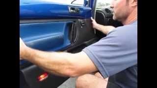 Removing your New Beetle interior door panel