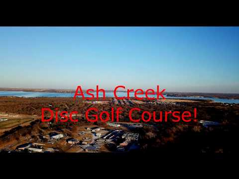 Ash Creek Disc Golf Course Review! - Azle, TX