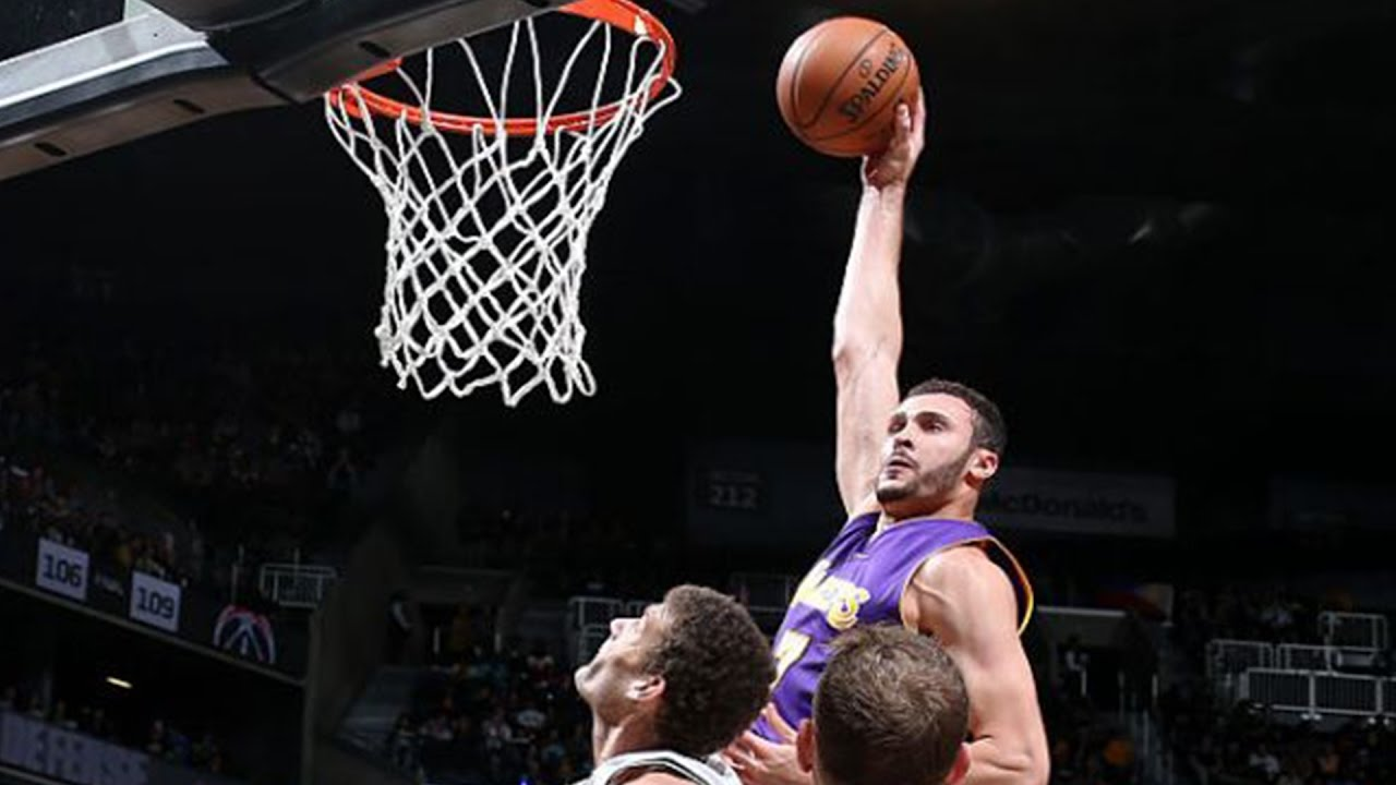 Dunk The Year Larry Nance Jr KILLS Brook Lopez