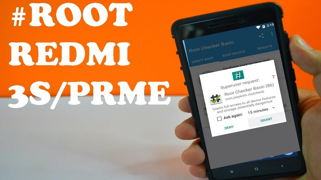 How To Root Redmi 3s Prime Easy Method Youtube