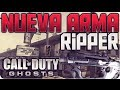 Hack CoD Ghosts Nueva Arma RIPPER en PS3 | ReDBullCoD7