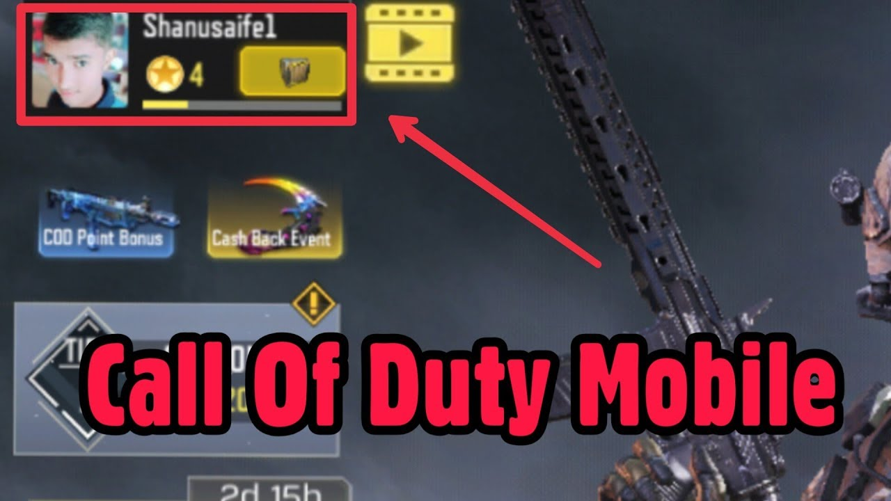 How To Change Profile Pictures Photo In Call Of Duty Mobile Cod Youtube