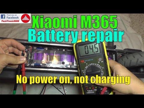Смотрите сегодня Xiaomi M365 not working - No Power Issue Repair and