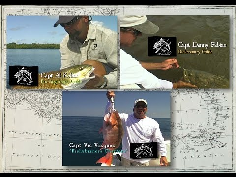 Captains Tales Episode 7 Multiple Captains - Redfish, Snook, Goliath, Red Snapper!