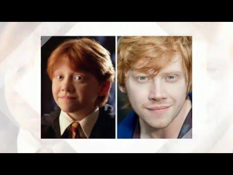 Как изменились актеры #ГарриПоттер! Сравни!