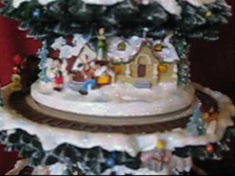 Wonderful World Of Disney Christmas Tree - YouTube