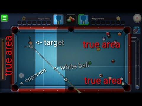 Bank shot tutorial full explanation! 8 ballpool miniclip