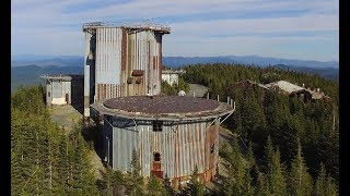 Camping on the Top of the Abandoned Lyndonville Radar Base Tower with Full Dark Productions!