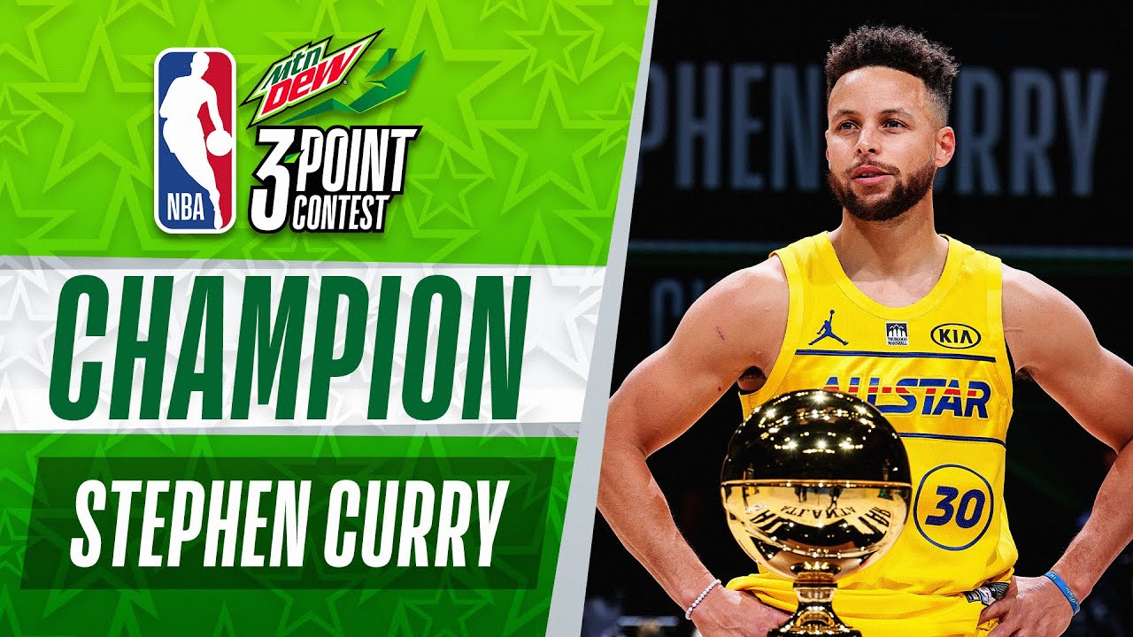 Stephen Curry WINS The #MtnDew3PT Contest​ | 2021 #NBAAllStar