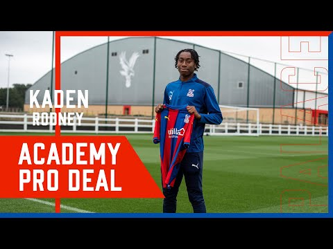 Kaden Rodney signs her professional contract!  🦅