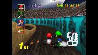 Mario Kart 64 Walkthrough/Gameplay Nintendo64 HD1080p