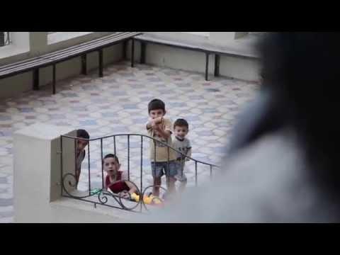 Gorilla Scares Kids in Baku