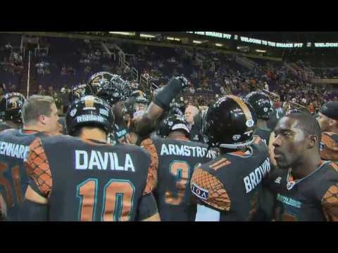 AFL National Conference Final Arizona Rattlers vs Spokane Shock