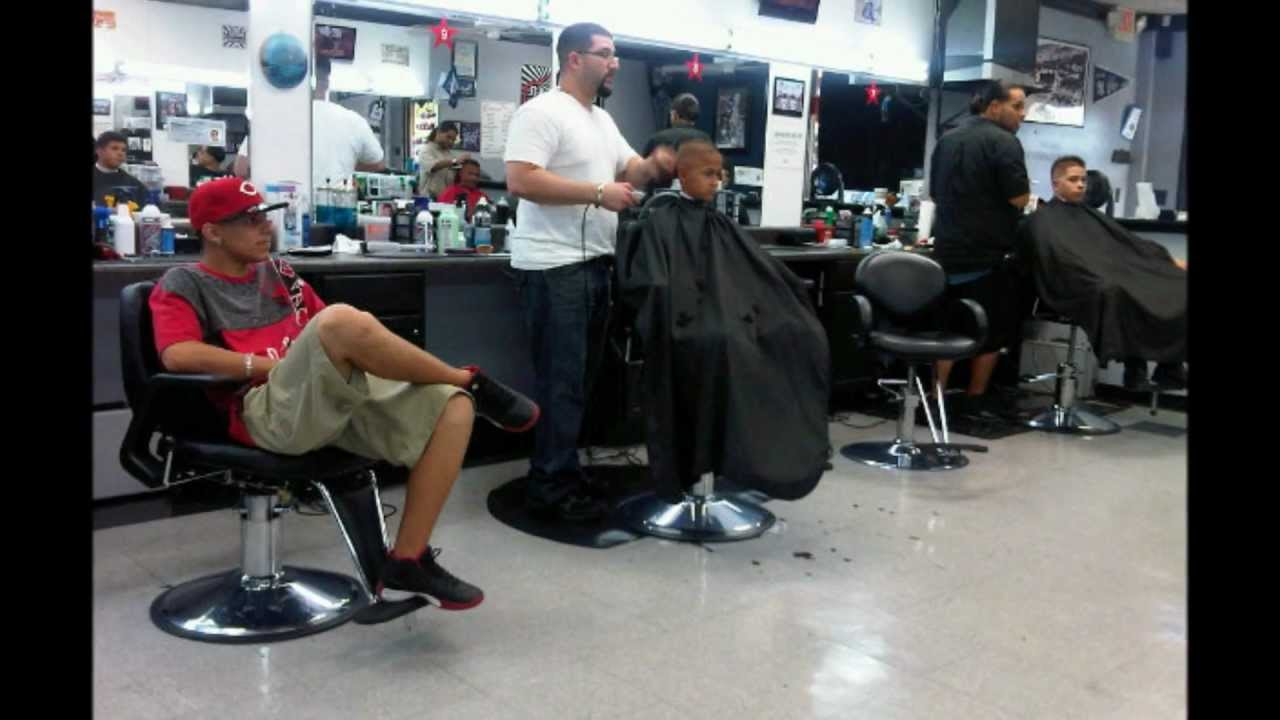 barbershop designs layouts