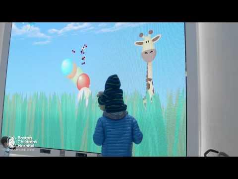 Interactive Media Wall | Boston Children's Hospital