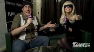 Lady Gaga Jolly Interview Backstage Z100 Jingle Ball 2011