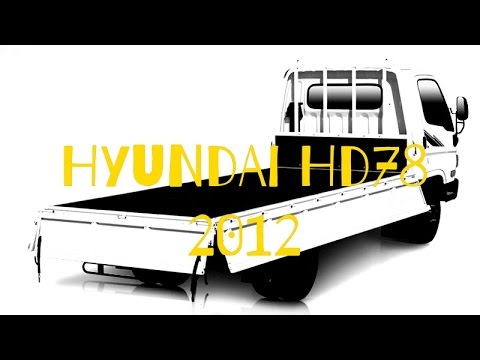 Hyundai HD78 2012 Review espaol