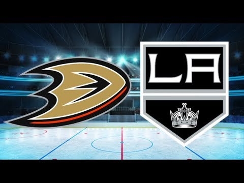 Anaheim Ducks vs Los Angeles Kings (4-2) – Jan. 13, 2018 | Game Highlights | NHL 2018