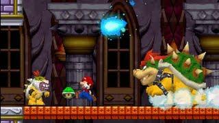New Super Mario Bros Ds 100 Walkthrough World 8 Final Boss All Star Coins Secret Exits Youtube