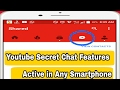Youtube New secret tab feature | How to enable chat in Youtube |  Youtube Letest Tricks 2017
