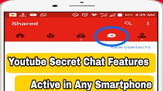 Youtube New secret tab feature  How to enable chat in Youtube   Youtube Letest Tricks 2017