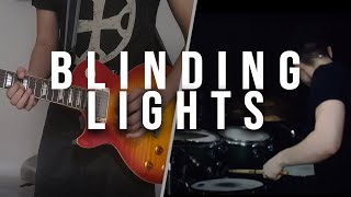 Blinding Lights - The Weeknd (Rock Cover by Marcus Curiel & Daniel Vega)