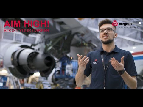 Join Cargolux's aircraft mechanic apprenticeship program!