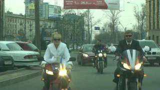 Лучшая Свадьба на мотоциклах в Питере
