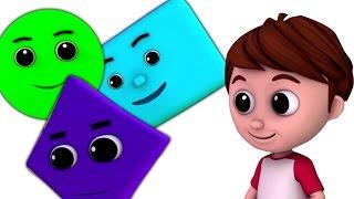 Hình dạng bài hát | Hình học Hình | Học hình dạng | Kids Learning | Shapes Song For Kids