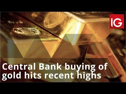 Central Bank buying of gold hits recent highs