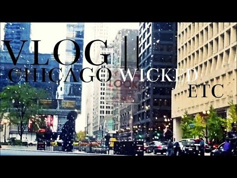 VLOG | Chicago | Wicked | Visiting Shaun