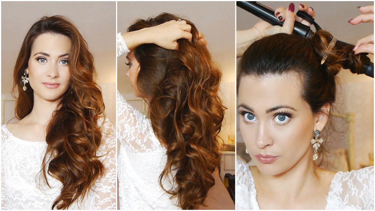 Como rizar el cabello en 5 minutos how to curl your - Como aclarar el pelo en casa ...