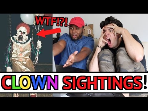 Thumbnail: BEST CLOWN SIGHTINGS COMPILATION 2016 (TOP 10) REACTION!