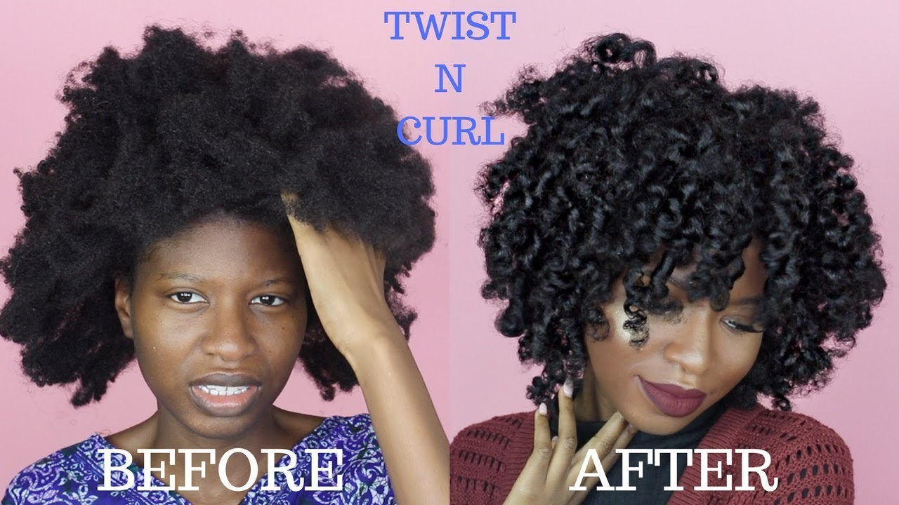 Twist N Curl For Type 4a 4b 4c Natural Hair Ft La Naturals