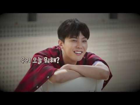 GD and seungri moment bigbang scout