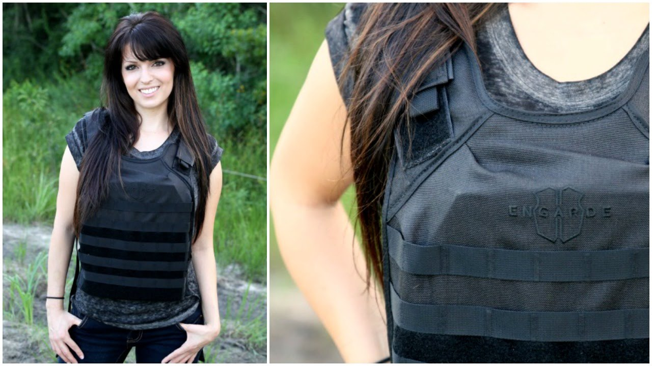 EnGarde Bullet Proof Vest Review (with Level IV Armor Plate)