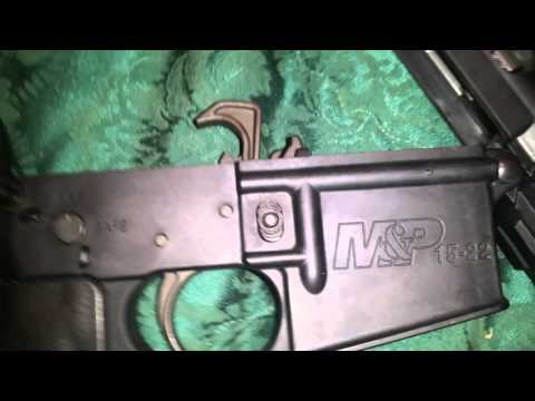 The only problem with the Smith & Wesson M&P 15-22