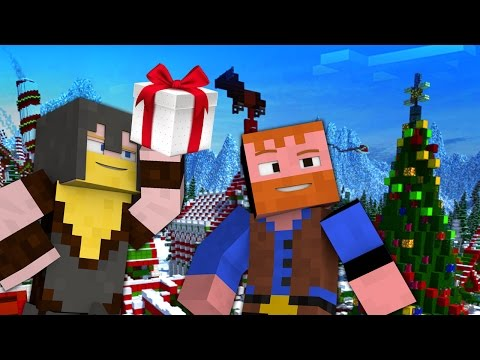 Minecraft YouTube: CHRISTMAS ISLAND (Minecraft Map: Islands of Junara, Ep.5)