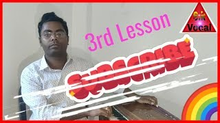 My channel (3rd) Lesson