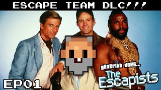 "The Escapists Gameplay S08E01 - ""I PITY THE FOOL!!!"" Escape Team DLC!"
