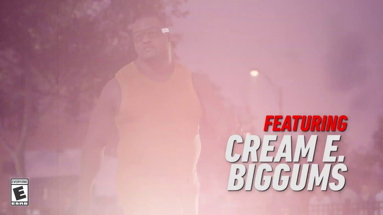 NBA LIVE 19 - Cream E. Biggums Creator Challenge