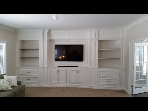 Custom Entertainment Center Built Ins