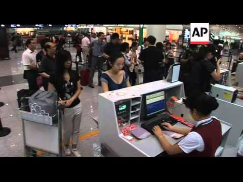 First group of independent Chinese travellers leave for Taipei