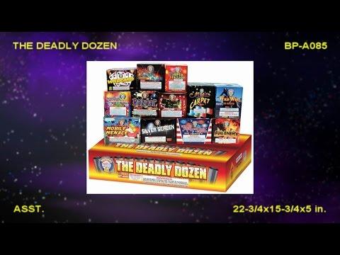 BP-A085 The Deadly Dozen assortment cakes