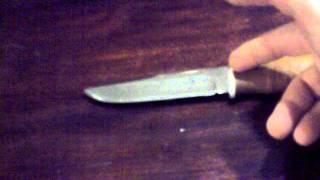 1.Нож Вихрь,гор.Ворсма(сталь 95Х18).mp4(Простой нож,помощник по домашнему хозяйству,производства ООО