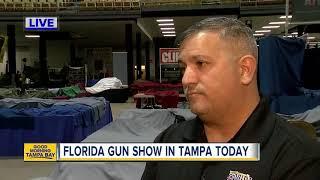 Weekend Gun Show in Tampa reveals varying views on Scott