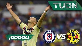 ¡Goool de Guido Rodríguez! | Cruz Azul 1 - 1 América | Liga Mx - AP 19 - J13 | TUDN