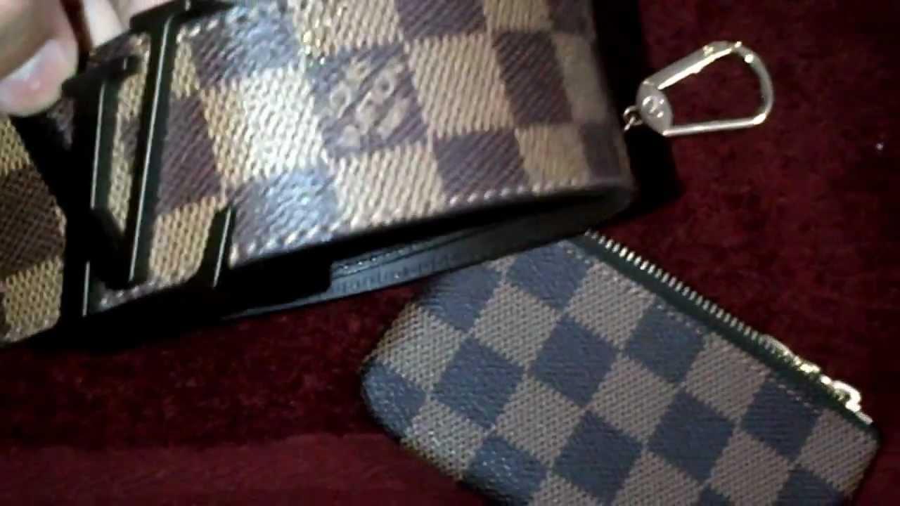 e64b8e70562c Louis Vuitton Key Chain Pouch Review Authentic - YouTube