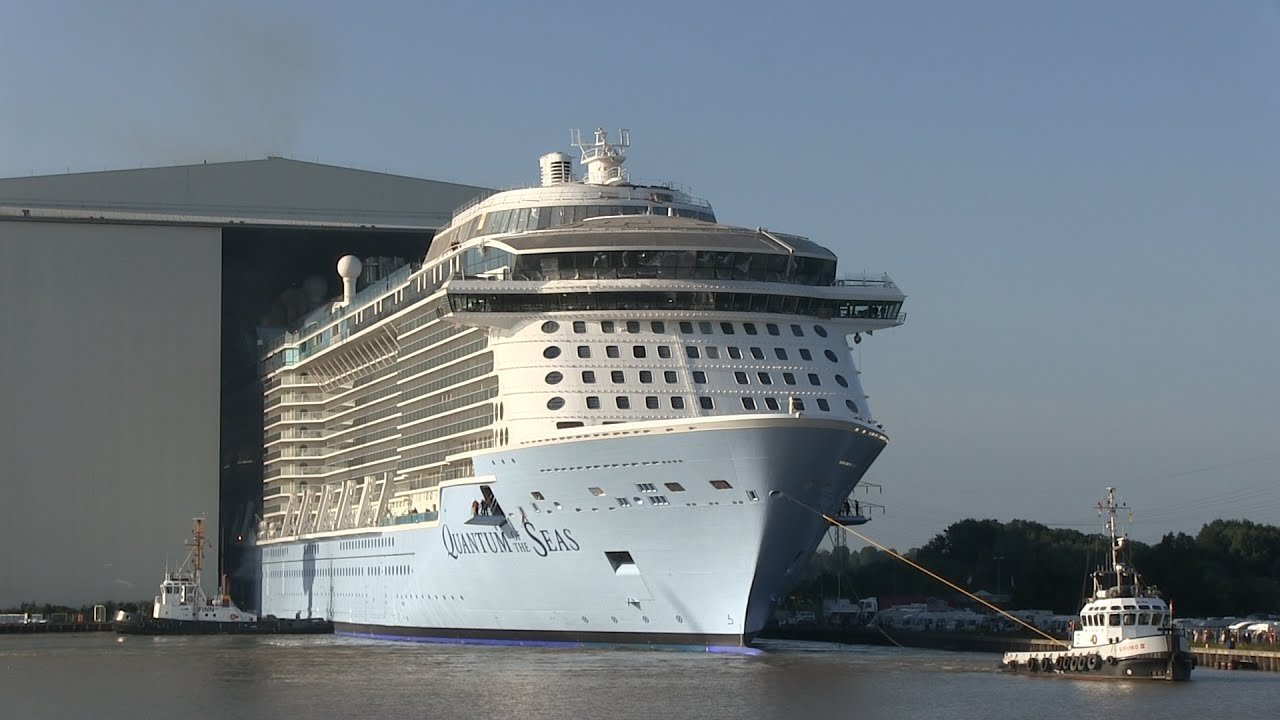 Float out QUANTUM OF THE SEAS at Meyer Werft | Ausdocken ...Quantum Of The Seas Float Out